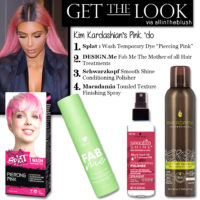 Get the Look: Kim Kardashian's Pink Hairdo