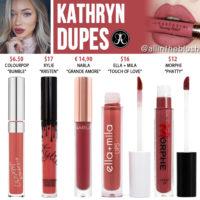 Anastasia Beverly Hills Kathryn Liquid Lipstick Dupes