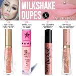 Anastasia Beverly Hills Milkshake Liquid Lipstick Dupes