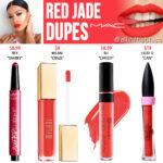 MAC Red Jade Retro Matte Liquid Lipcolour Dupes