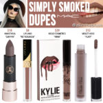 MAC Simply Smoked Retro Matte Liquid Lipcolour Dupes