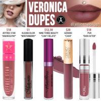 Anastasia Beverly Hills Veronica Liquid Lipstick Dupes