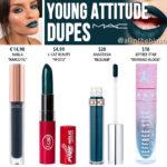 MAC Young Attitude Retro Matte Liquid Lipcolour Dupes