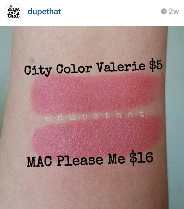 mac please me lipstick dupes all in the blush