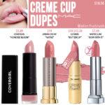 MAC Creme Cup Lipstick Dupes
