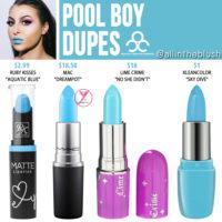 OCC Pool Boy Lip Tar Dupes
