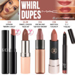 MAC Whirl Lipstick Dupes