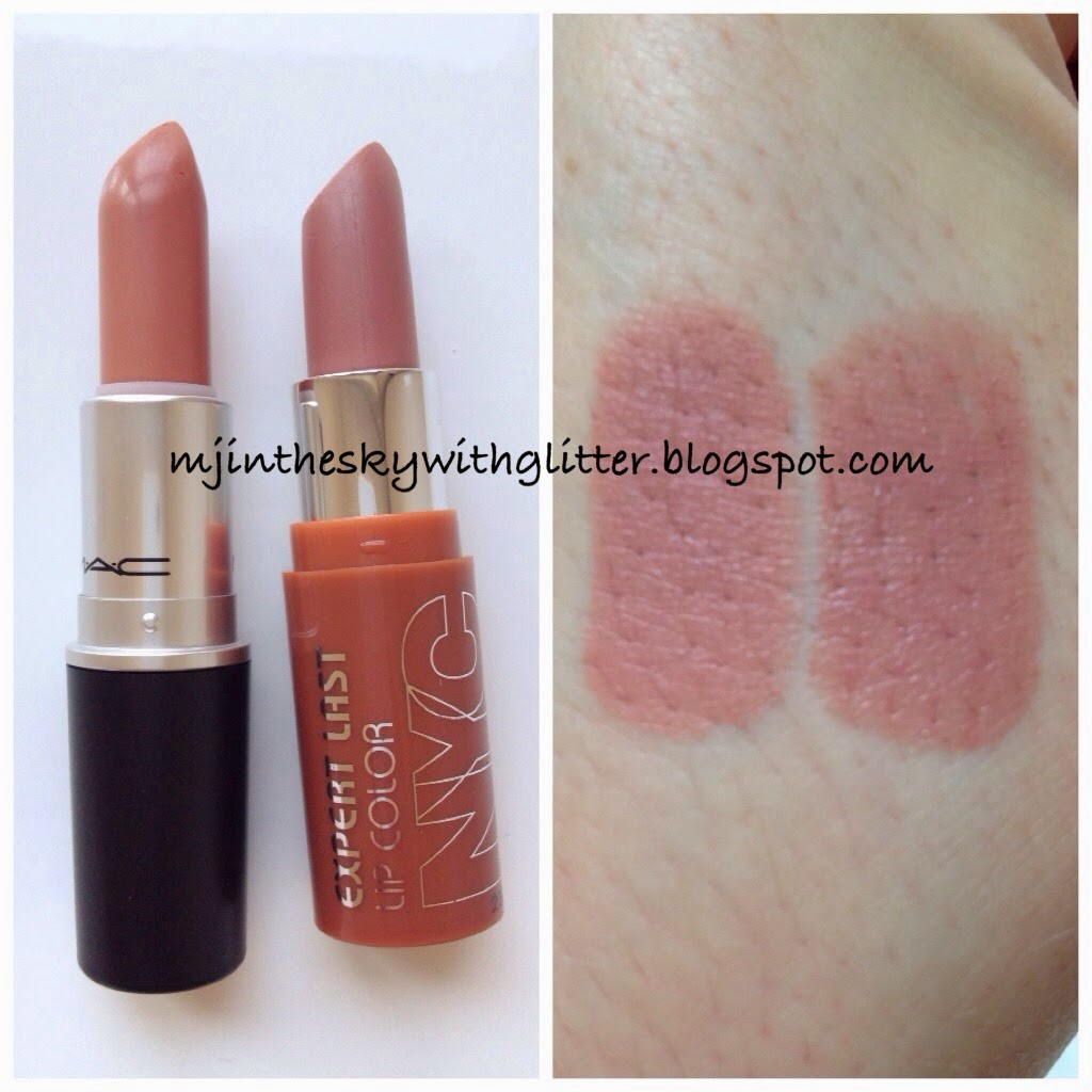 Vaak MAC Honeylove Lipstick Dupes - All In The Blush @MC48