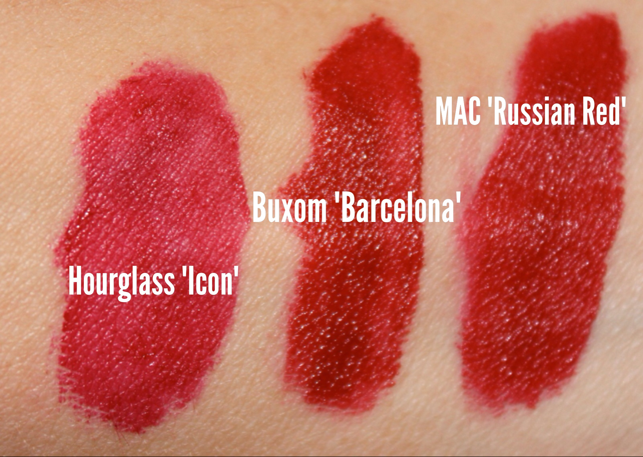 MAC Russian Red Lipstick Dupes