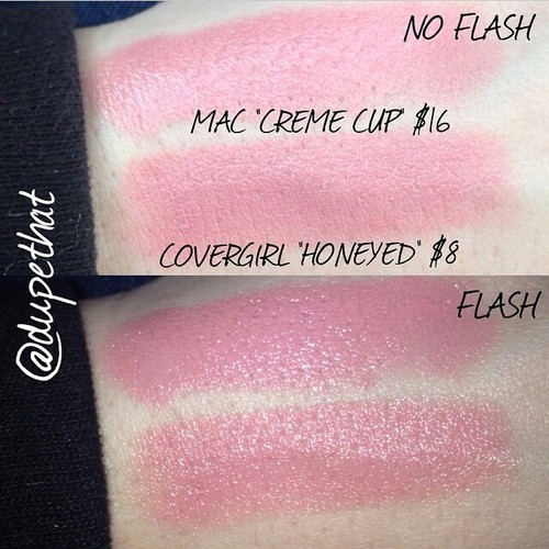 Mac Creme Cup Lipstick Dupes All In The Blush