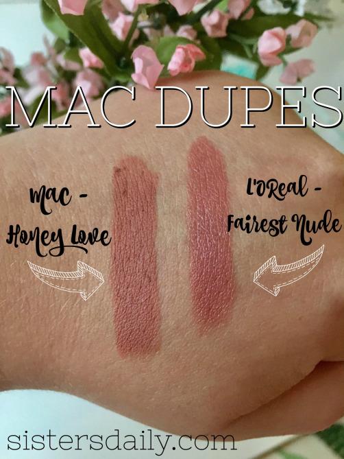 Wonderbaarlijk MAC Honeylove Lipstick Dupes - All In The Blush MR-98