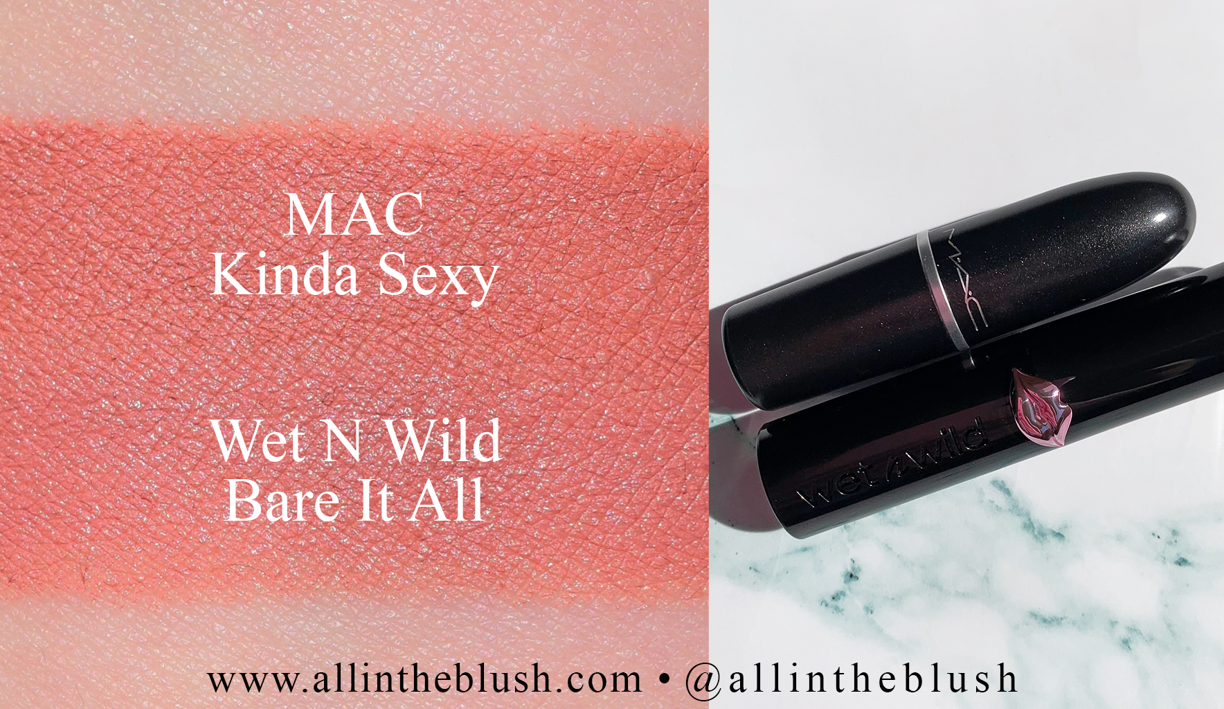 MAC Kinda Sexy Lipstick Dupes