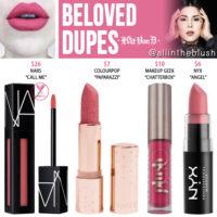 Kat Von D Beloved Everlasting Liquid Lipstick Dupes