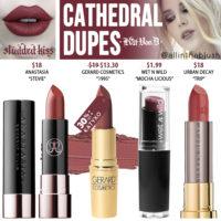 Kat Von D Cathedral Studded Kiss Crème Lipstick Dupes