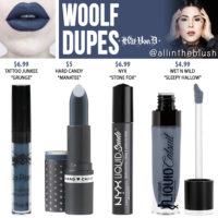Kat Von D Woolf Everlasting Liquid Lipstick Dupes