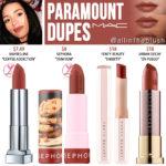 MAC Paramount Lipstick Dupes