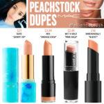 MAC Peackstock Lipstick Dupes
