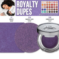 Morphe x Jaclyn Hill Royalty Eyeshadow Dupes [The Jaclyn Hill Palette]