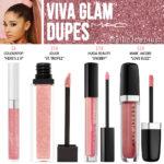 MAC Viva Glam Ariana Grande Lipglass Dupes