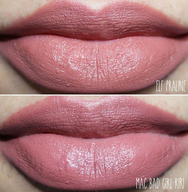 riri bad girl mac lipstick