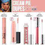 MAC Cream Pie Lipglass Dupes