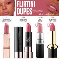 Kylie Cosmetics Flirtini Lipstick Dupes