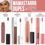 MAC Mamastarrr Lipglass Dupes