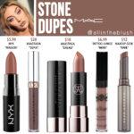 MAC Stone Lipstick Dupes