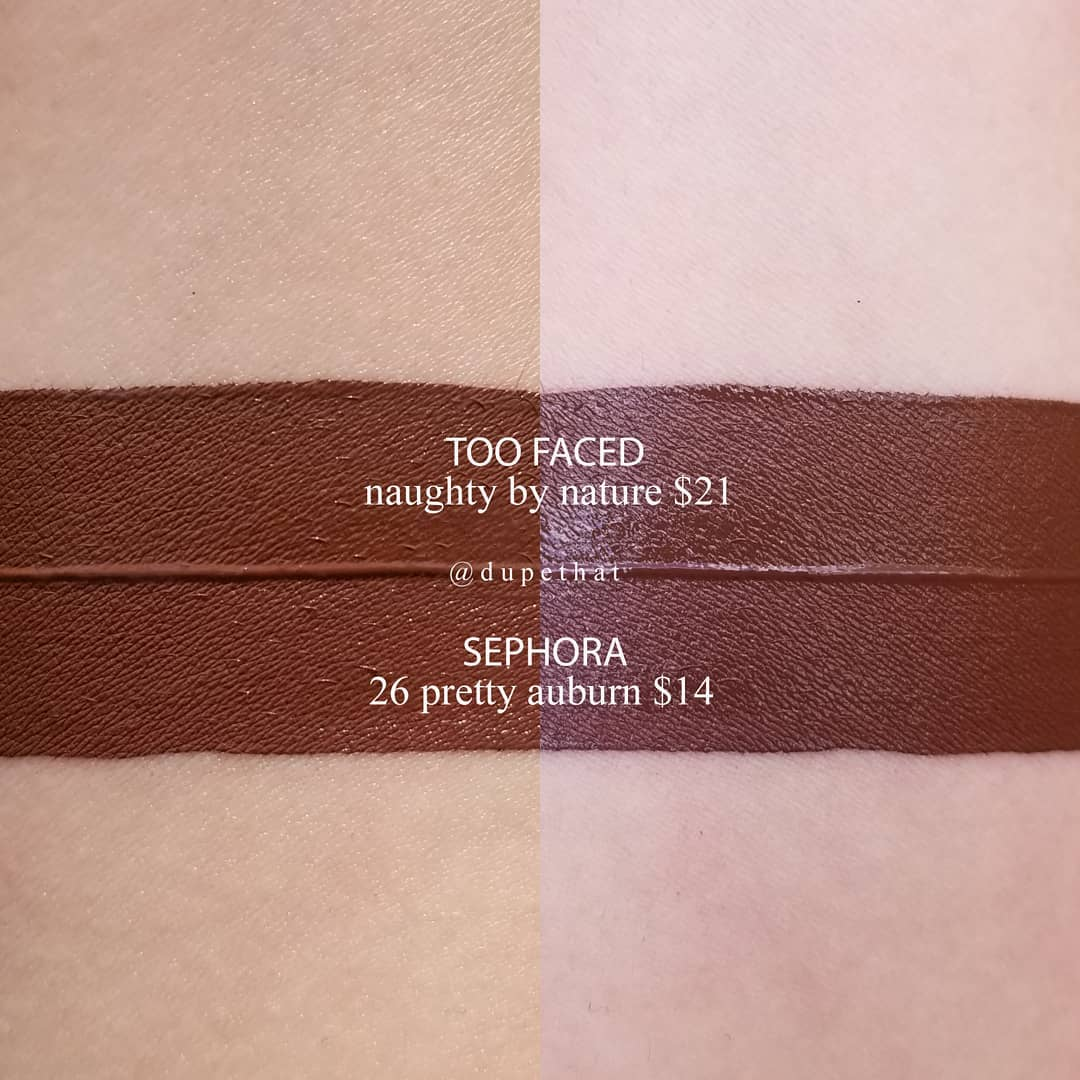 Too Faced Naughty By Nature Swatch