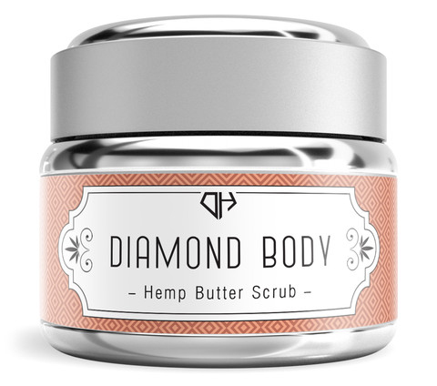 Combat Dry Skin With DiamondHEMP Scrubs and Moisturizers