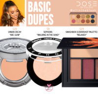 Dose of Colors Basic Eyeshadow (FRIENDCATION) Dupes