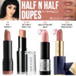 MAC Half 'N Half Lipstick Dupes