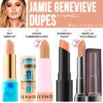 MAC Jamie Genevieve Lipstick Dupes