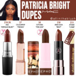 MAC Patricia Bright Lipstick Dupes