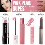 MAC Pink Plaid Lipstick Dupes