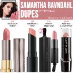 MAC Samantha Ravndahl Lipstick Dupes