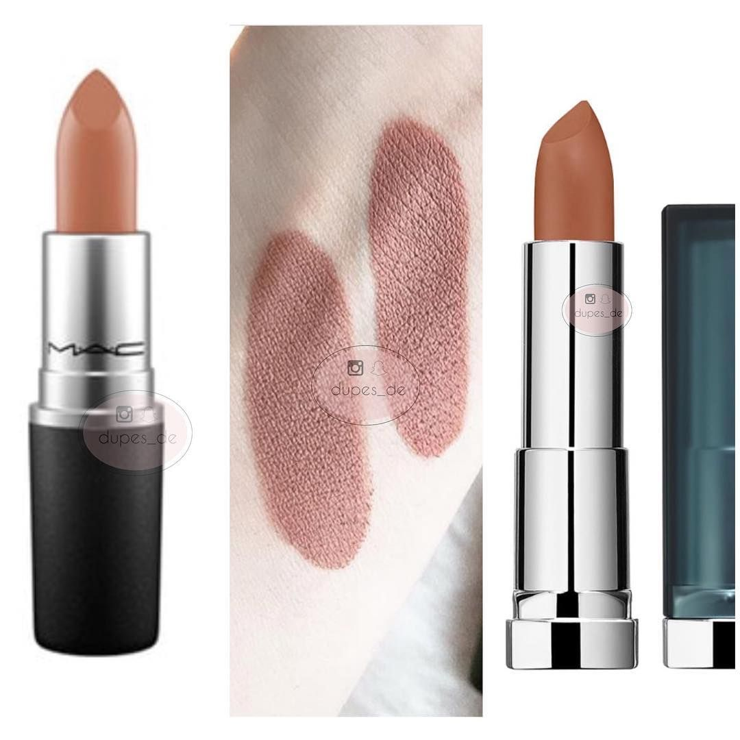 Zeer MAC Yash Lipstick Dupes - All In The Blush &WM88