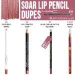 MAC Soar Lip Pencil Dupes