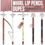 MAC Whirl Lip Pencil Dupes