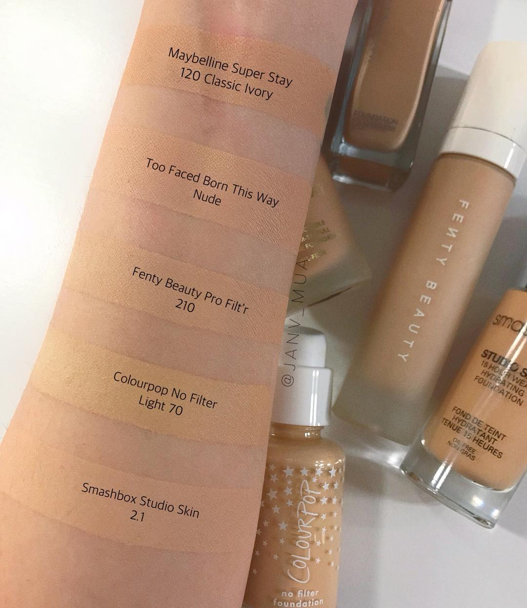 Pro Filt R Hydrating Longwear Foundation By Fenty Beauty