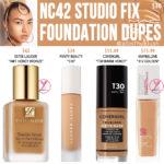 MAC NC42 Studio Fix Fluid Foundation Dupes
