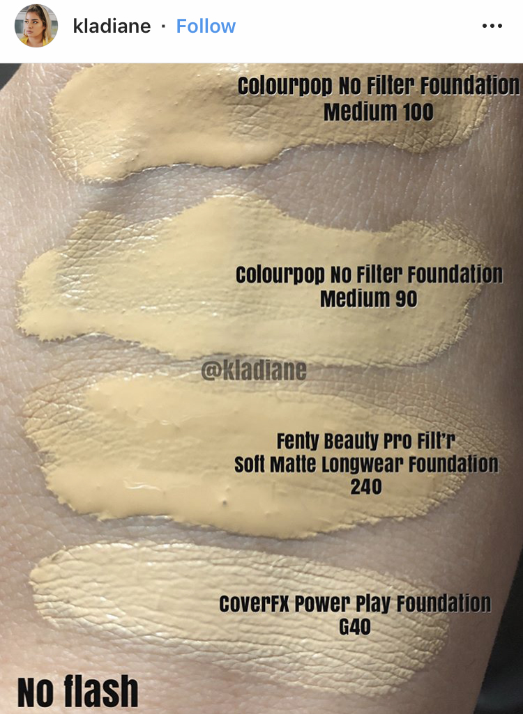 Fenty Beauty 240 Pro Filt R Soft Matte Longwear Foundation Dupes All In The Blush