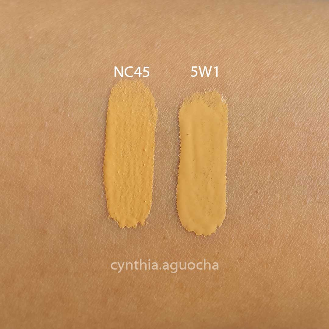 MAC NC45 Studio Fix Fluid Foundation Dupes - All In The Blush