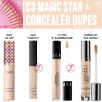 Jeffree Star C3 Magic Star Concealer Dupes