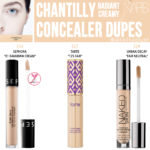 NARS Chantilly Radiant Creamy Concealer Dupes