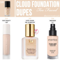 Too Faced Cloud Born This Way Foundation Dupes