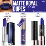 MAC Matte Royal Lipstick Dupes