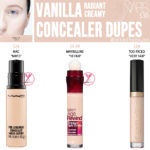 NARS Vanilla Radiant Creamy Concealer Dupes