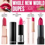 MAC Whole New World Lipstick Dupes [Disney Aladdin Collection]
