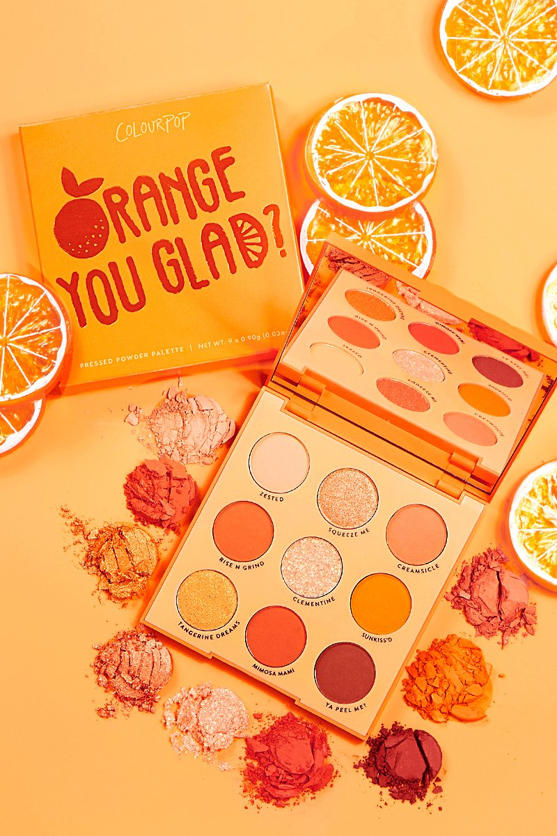 Colourpop Orange You Glad Collection All In The Blush
